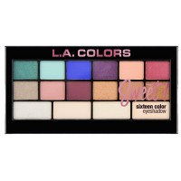 L.A.Colors Sweet! 16 Color Eyeshadow Palette  палетка теней