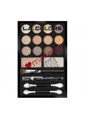 L.A.Color I Heart Makeup Drama Eye Palette- Набор теней