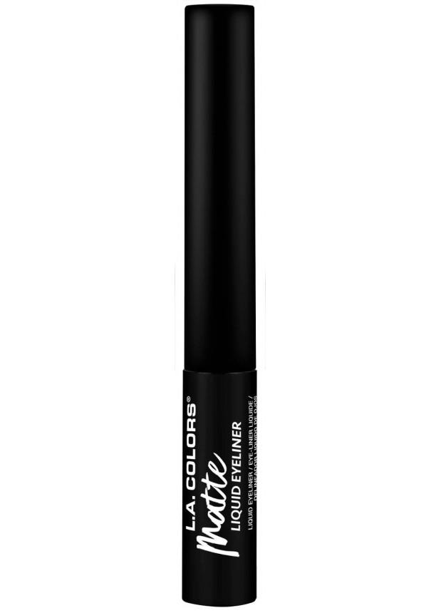 L.A.Colors Matte liquid eyeliner-black подводка для глаз черная