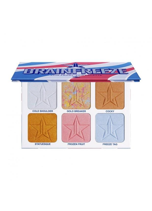 Jeffree Star Cosmetics Brainfreeze pro palette