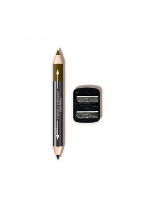 L.A. Colors Dual Liner & Shadow Pencil W/ Sharpener