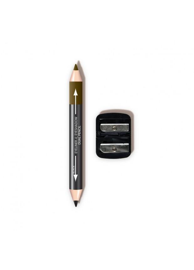 L.A. Colors Dual Liner & Shadow Pencil W/ Sharpener