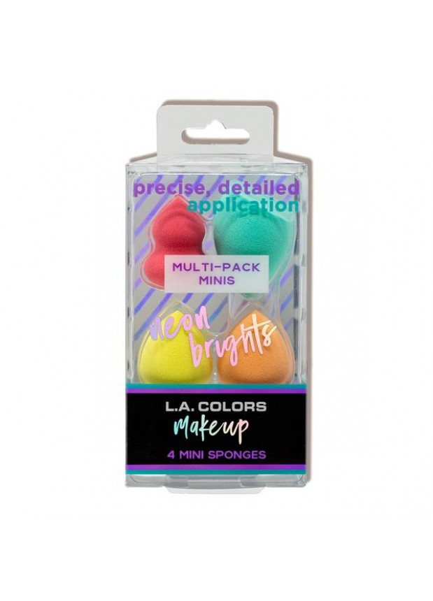 L.A.Colors SIGNATURE 4 PC MINI BLENDING SPONGE спонж для макияжа