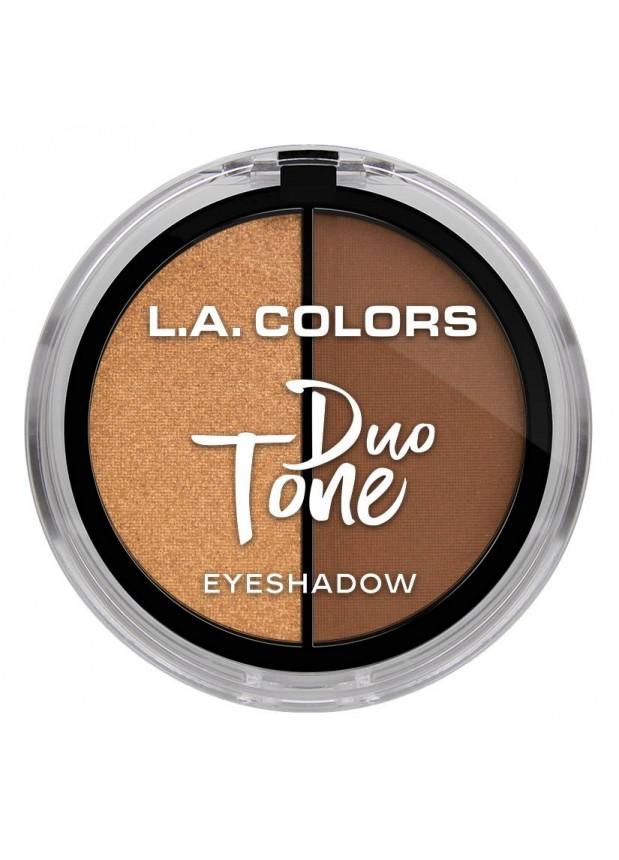 L.A.Colors Duo Tone Eyeshadow  тени для глаз