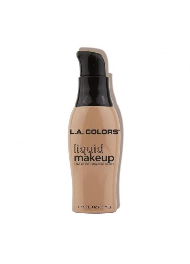 L.A. Color PUMP LIQUID MAKEUP Основа для лица