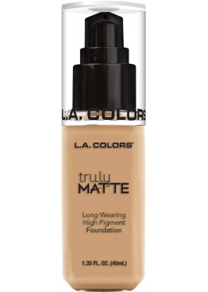 L.A.Colors Truly Matte Foundation тональная основа