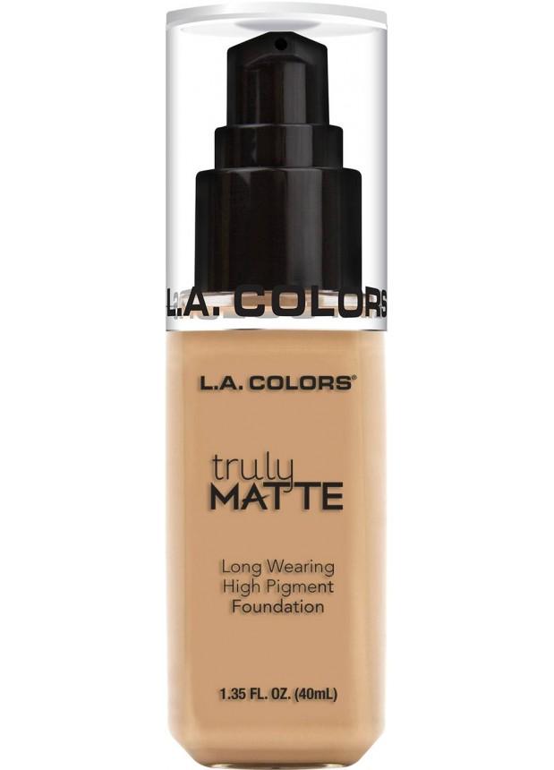 L.A.Colors Truly Matte Foundation тональная основа