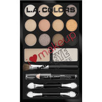 L.A.Color I Heart Makeup Drama Eye Palette- Набор теней