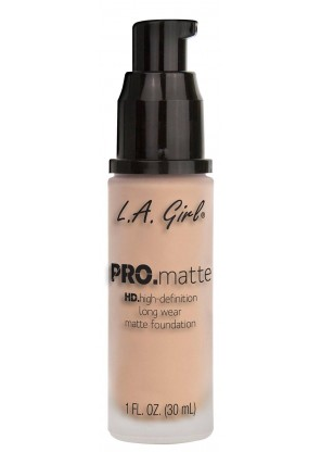 L.A.Girl Pro Matte Foundation тональная основа