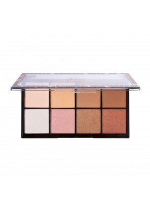 J.Cat Beauty Hide & Seek Contour/Highlight Palette 8 Square Palette