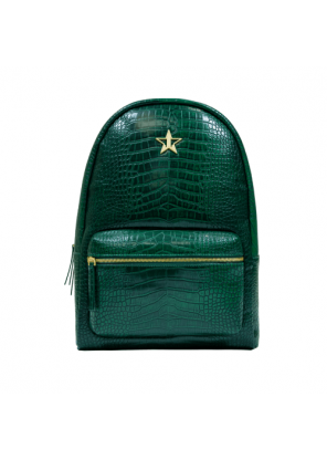 Jeffree Star Cosmetics Green Crocodile Backpack
