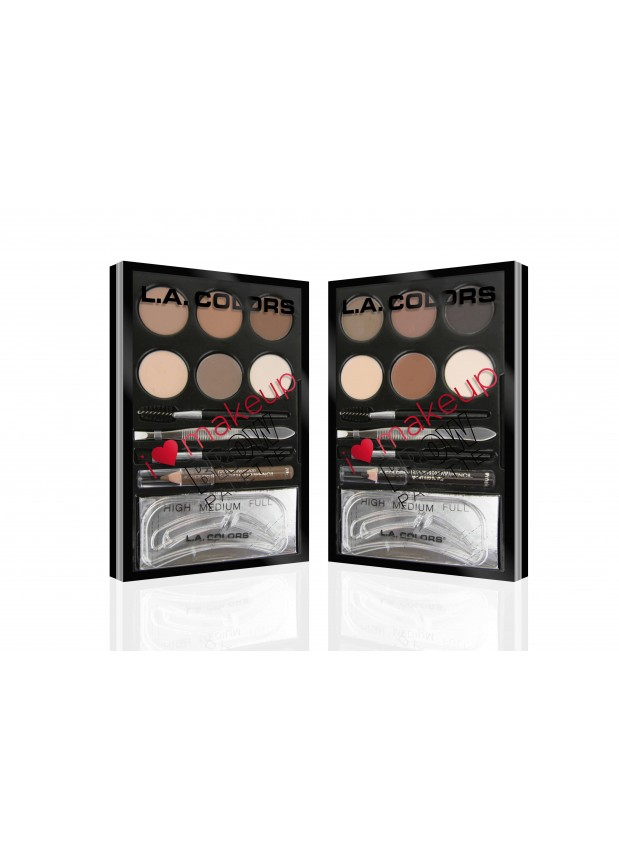 L.A Colors I Heart Makeup Brow Palette набoр для брoвей