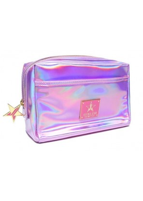 Jeffree Star Cosmetics Holographic Pink Makeup Bag