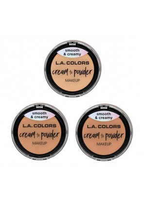 L.A. Colors Cream to Powder Крем пудра для лица