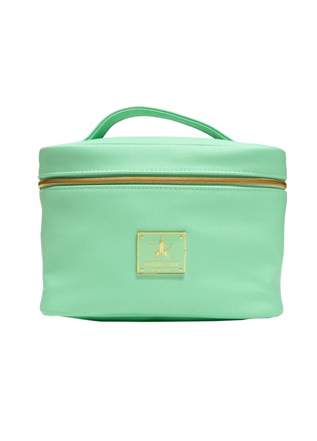 Jeffree Star  Cosmetics Blood Money Collection Mint Travel Bag