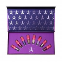 Jeffree Star Cosmetics Mini Queen Bitch Velour Liquid Lipstick bundle набор жидких матовых губных помад