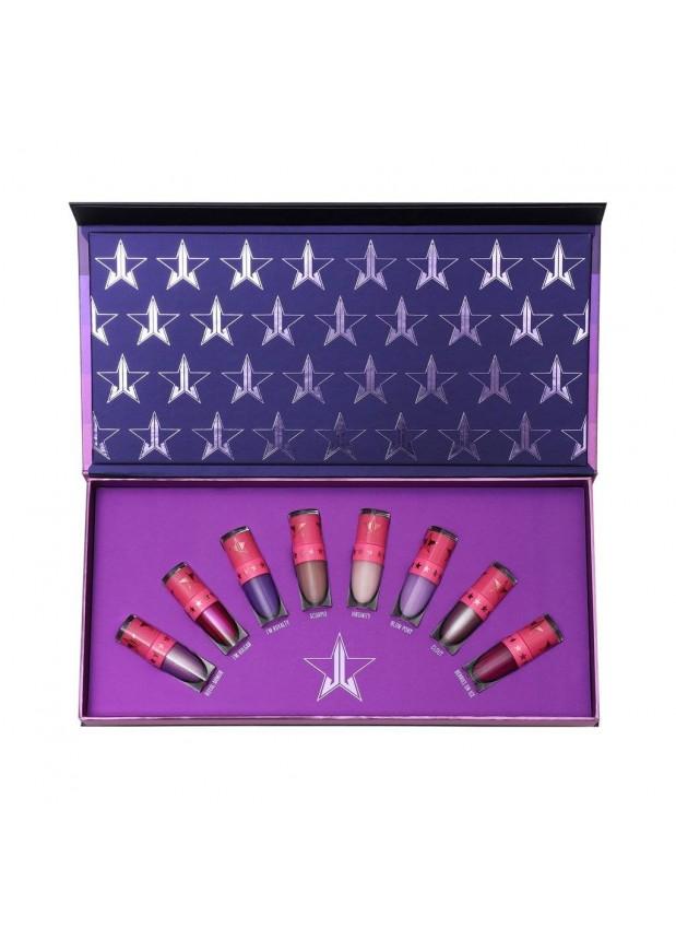 Jeffree Star Cosmetics Mini Queen Bitch Velour Liquid Lipstick bundle