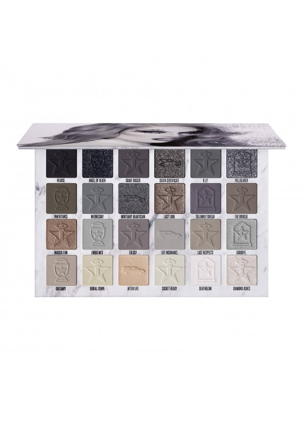 Jeffree Star Cosmetics Eyeshadow Palette Cremated