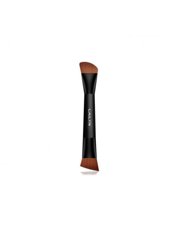 Cailyn Contour Duo Brush двухсторонняя кисть для основы под макияж