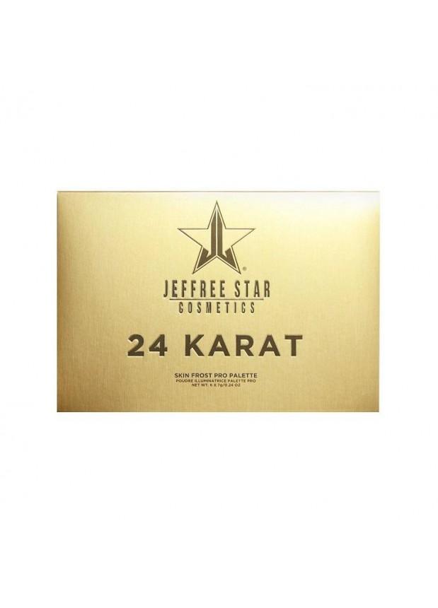 Jeffree Star Cosmetics 24 Karat Skin Frost™ палетка xайлайтеров