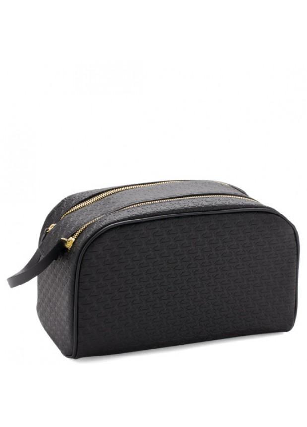 Jeffree Star Cosmetics Makeup Bag: Black Double Zip