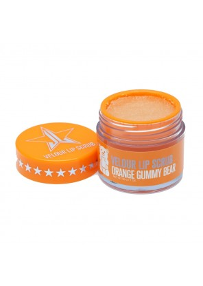 Jeffree Star Cosmetics Velour Lip Scrub Orange Gummy Bear