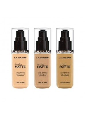 L.A. Colors Truly Matte Foundation тональная основа