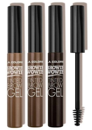 L.A. Colors Browie Wowie Tinted Brow Gel гель для бровей
