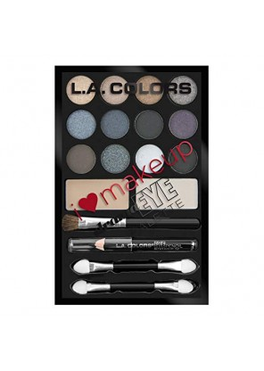 L.A Color I Heart Makeup Drama Eye Palette-Darling ( Smokey) Набор теней