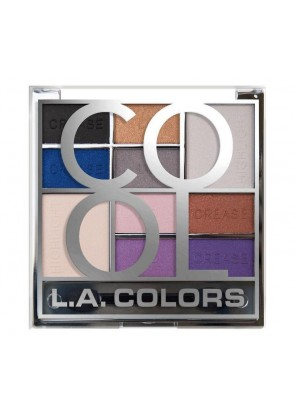 L.A.Colors Block 10 Color Eyeshadow Palette COOL Палетка теней