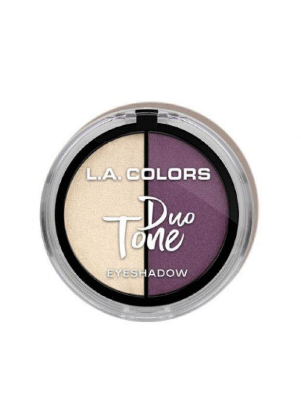 L.A. Colors Duo Tone Eyeshadow - Stardust тени для глаз холодный оттенок