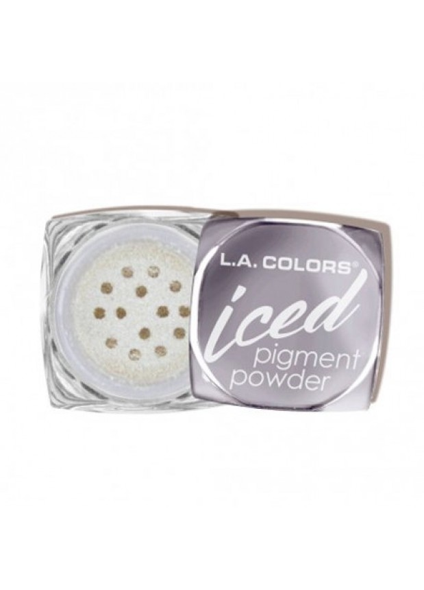 L.A Colors Iced Pigment Powder рассыпчатые тени