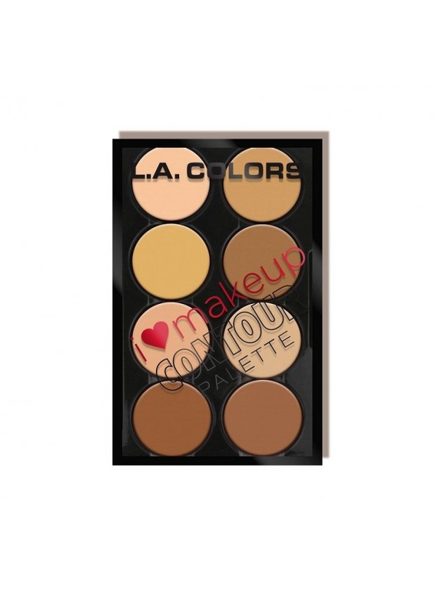 L.A. Colors I heart Makeup-Contour палетка для контуринга