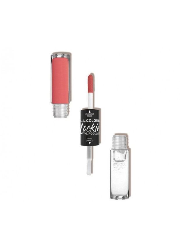 L.A.Colors Lockin Lip color двусторонний блеск для губ