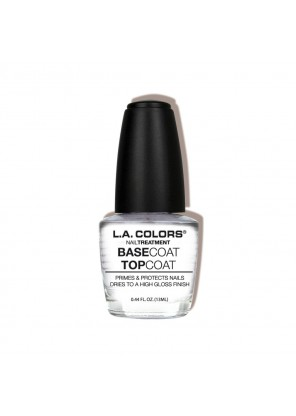 L.A Colors  Base Coat Top Coat  База + Топ для ногтей