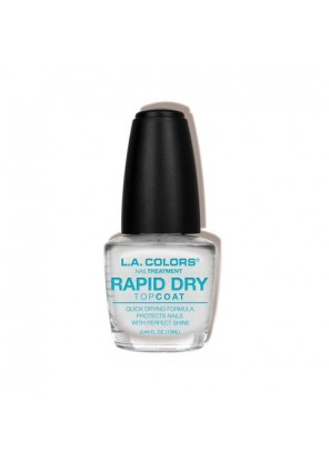 L.A Colors Nail Polish-Rapid Dry Top Coat  Покрытие-сушка для лака