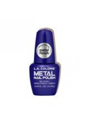 L.A Colors Metal Nail Polish Стойкий лак для ногтей