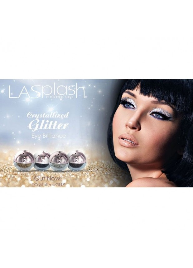 LA Splash Crystallized Glitter рассыпчатые пигменты блёстки