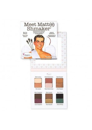 the Balm Meet Matt(e) Shmaker палетка теней