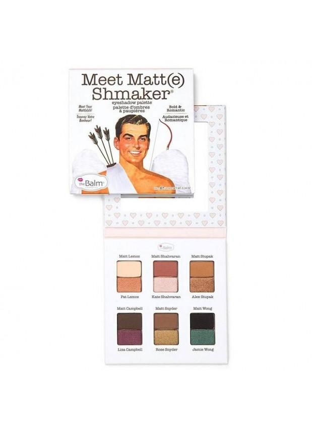 the Balm Meet Matt(e) Shmaker палетка теней