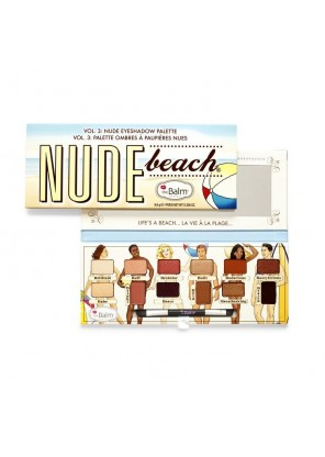 the Balm Nude Beach Eyeshadow Palette палетка теней