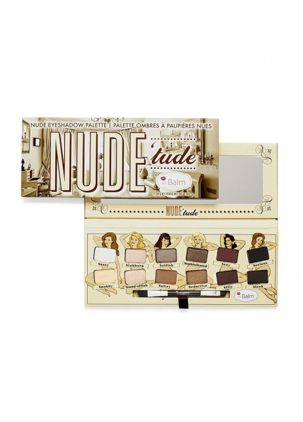 the Balm Nude Tude Eyeshadow Palette палетка теней