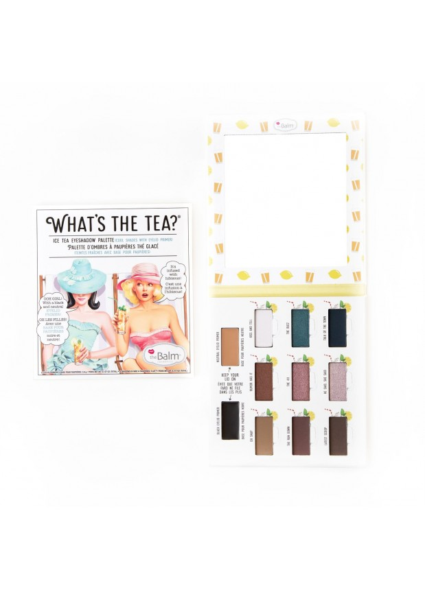 The Balm What's the Tea? Ice Tea Palette палетка теней с праймерами