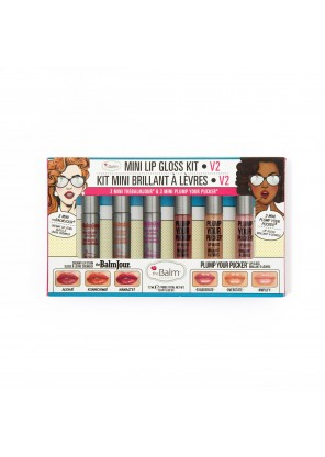 The Balm Mini Lip Gloss Kit V2 набор помад в мини формате