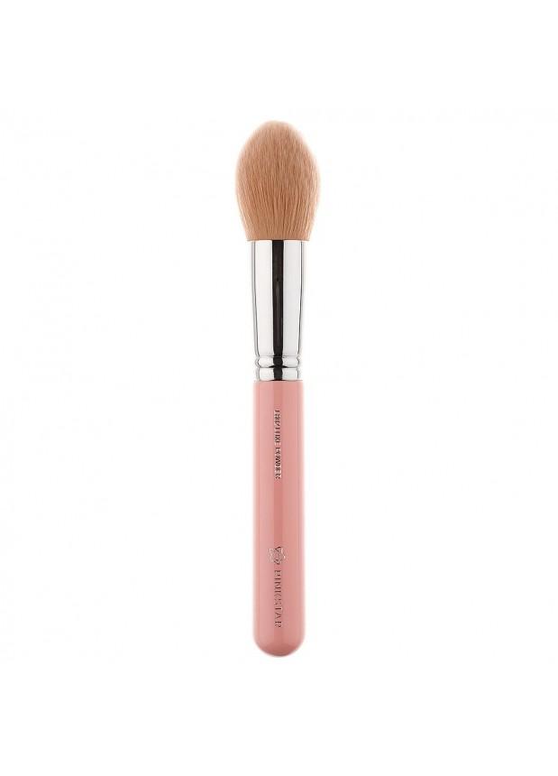 Pink Star Cosmetics Powder Brush Silver L802