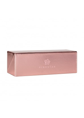 Pink Star Cosmetics Box Case Rose Gold Футляр для кистей