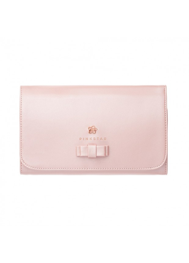 Pink Star Cosmetics Brush Case Pink Rose Gold  Футляр для кистей