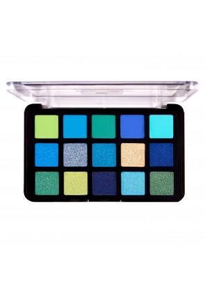 J.Cat Beauty Dia & Noche Tri-Element 15 Eyeshadow Palette Around the clock