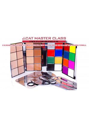J.Cat beauty MASTER CLASS FACE/FX COLOR PALETTE
