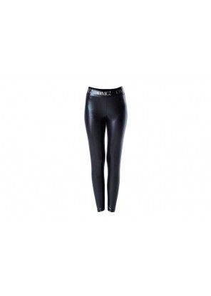 OMG! Platinum BLACK Leggins-Medium Size Легінси жіночі ЧОРНІ